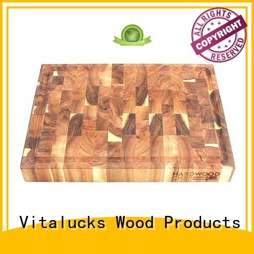 Vitalucks large wood cutting board custom for chopping meat