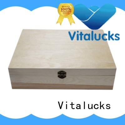 Vitalucks hot-sale small wooden gift boxes favorable price