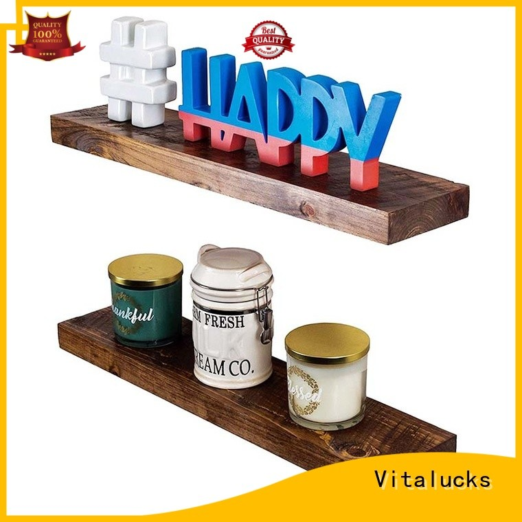 Vitalucks hot-sale hanging wood shelves advanced equipment competitive price