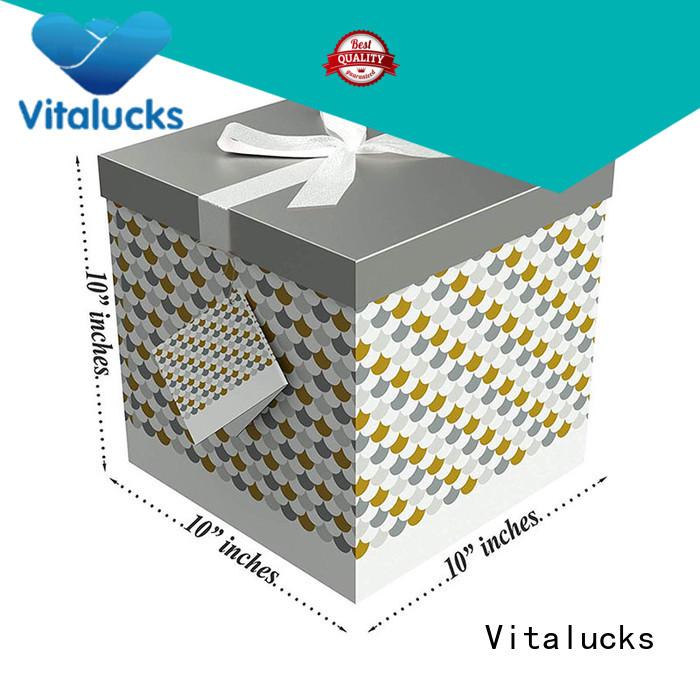 Vitalucks paper packaging box modern supplier