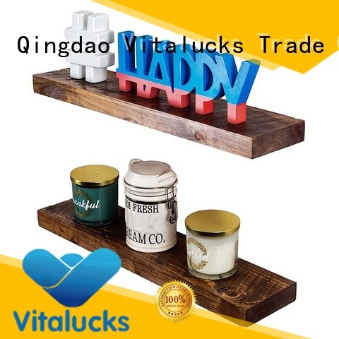 Vitalucks timber floating shelves professional for wholesale