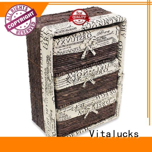 Vitalucks paper rope basket pratical production