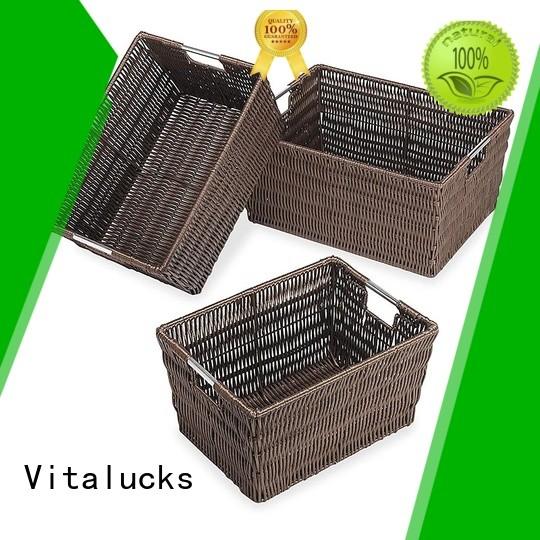 Vitalucks best basket solid wood oem&odm
