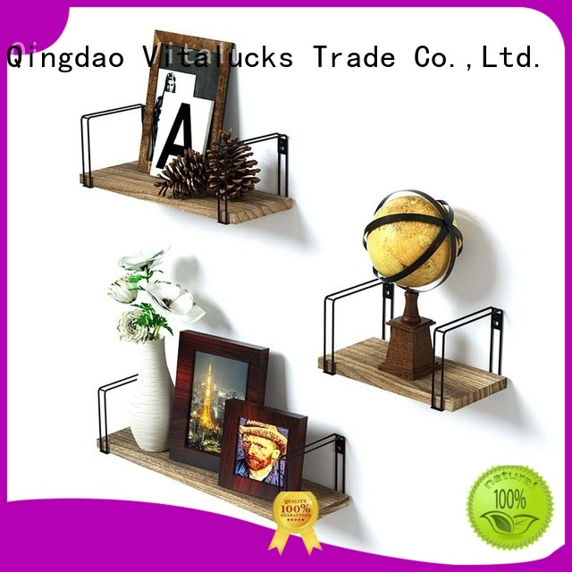 Vitalucks wooden wall shelves professional for wholesale