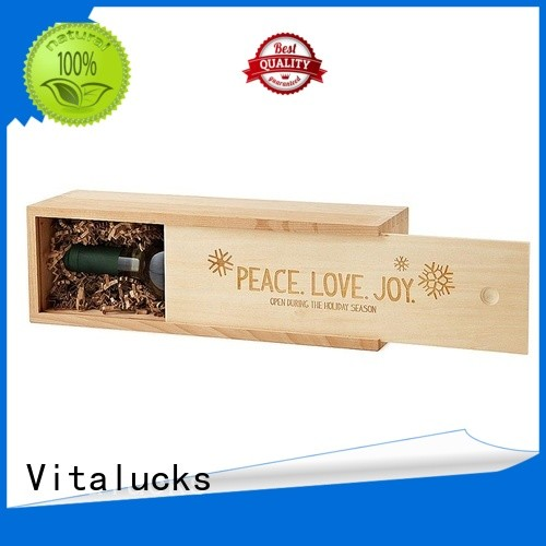 Vitalucks customized wooden crate box fast delivery