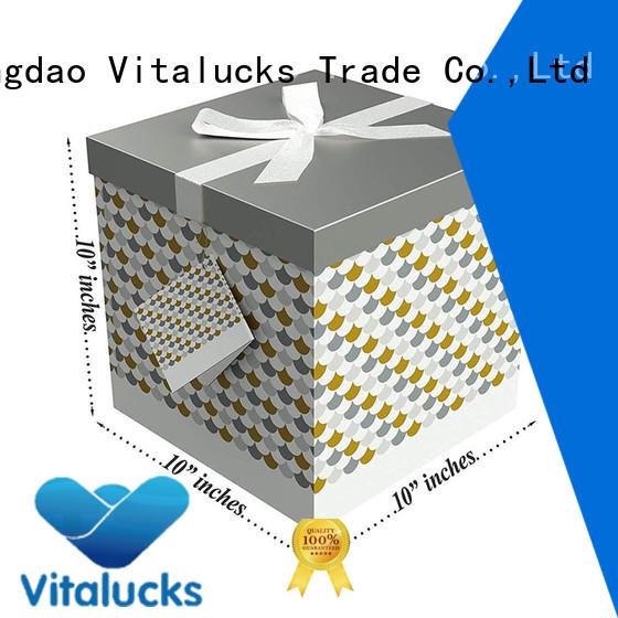 custom printed packing boxes gift packaging Vitalucks