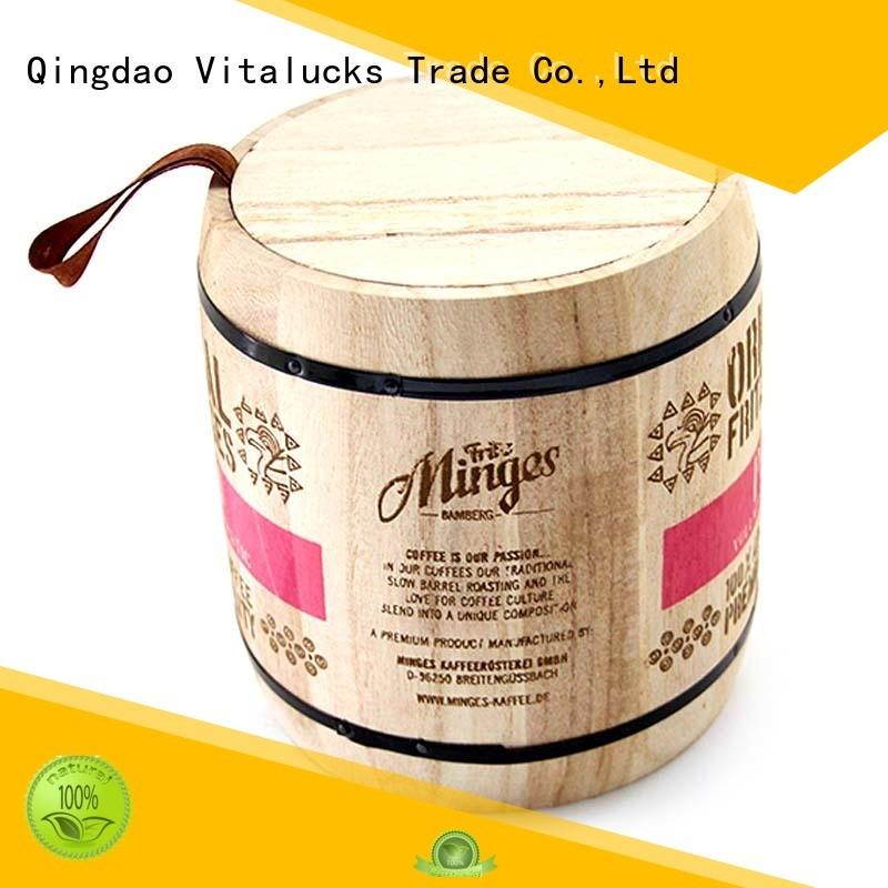 plain wooden box for pakaging
