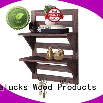 Vitalucks decorative wall mounted shelves glossy for packing