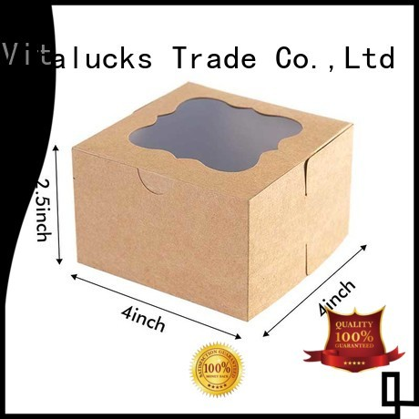 Vitalucks recycled custom printed packing boxes for customization