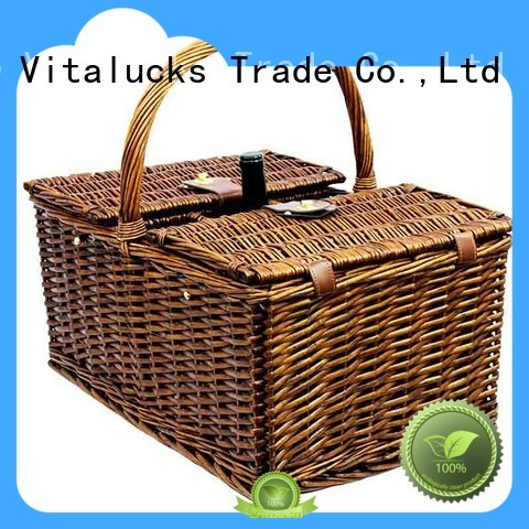 Vitalucks durable rattan storage boxes with lids fast delivery