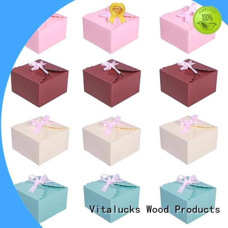 Vitalucks bulk gift boxes practical manufacturing