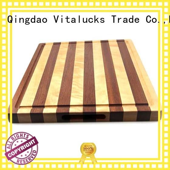 Vitalucks OEM &ODM solid wood cutting board best factory price