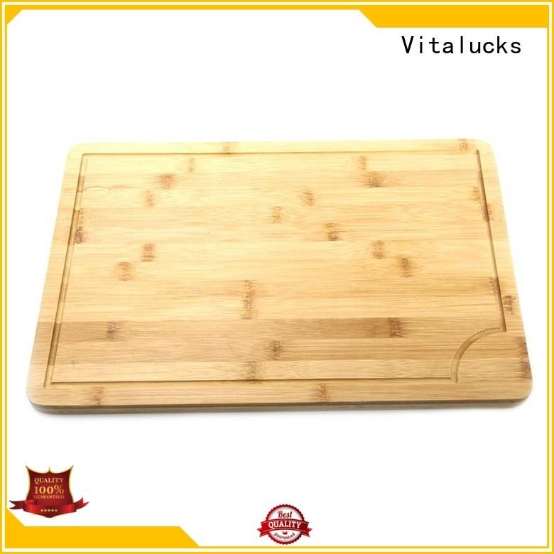 OEM &ODM large bamboo cutting board custom for wholesale