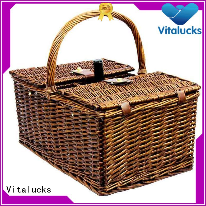 Vitalucks custom basket durable