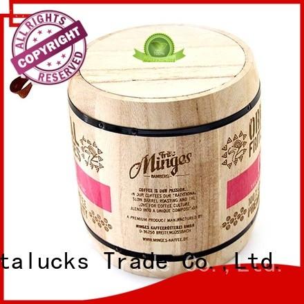 Vitalucks best price wooden tea canister multi-functional