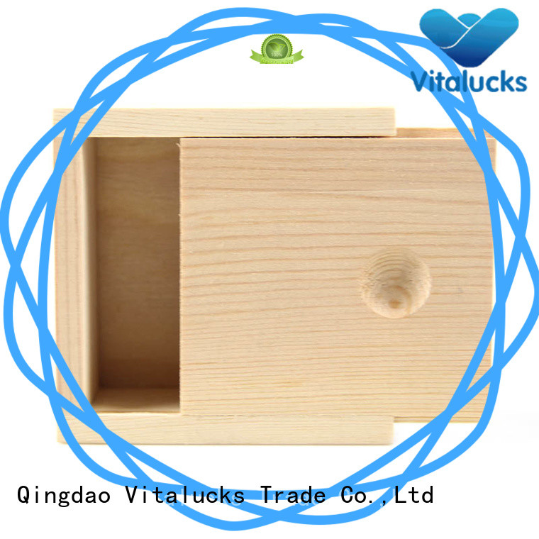 customized small wooden boxes OEM&ODM fast delivery