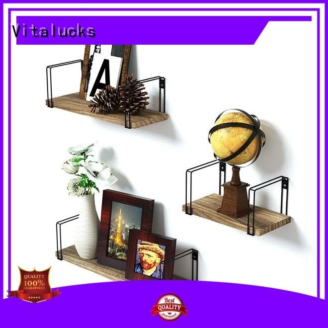 Vitalucks hot-sale wall mounted shelves professional for wholesale