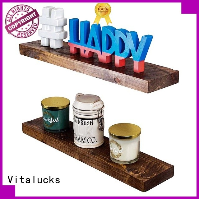 Vitalucks wall decor wood shelves fast delivery for storage