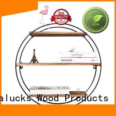 Vitalucks natural wood floating shelves advanced equipment competitive price