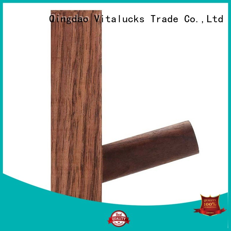 Vitalucks hot-sale hanging wood shelves plain for storage
