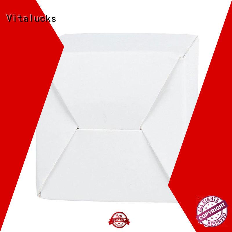 Vitalucks cardboard display boxes chemical-free magnetic closure
