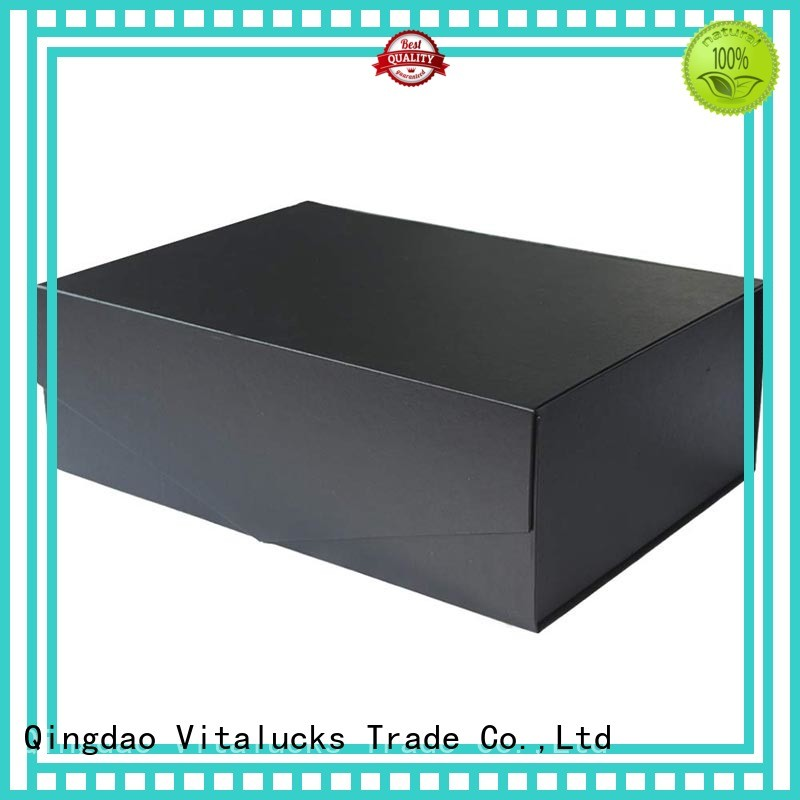Vitalucks reusable gift packaging cartons for storage