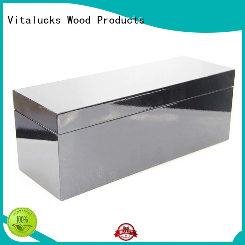 custom made wooden boxes high-quality for pakaging Vitalucks