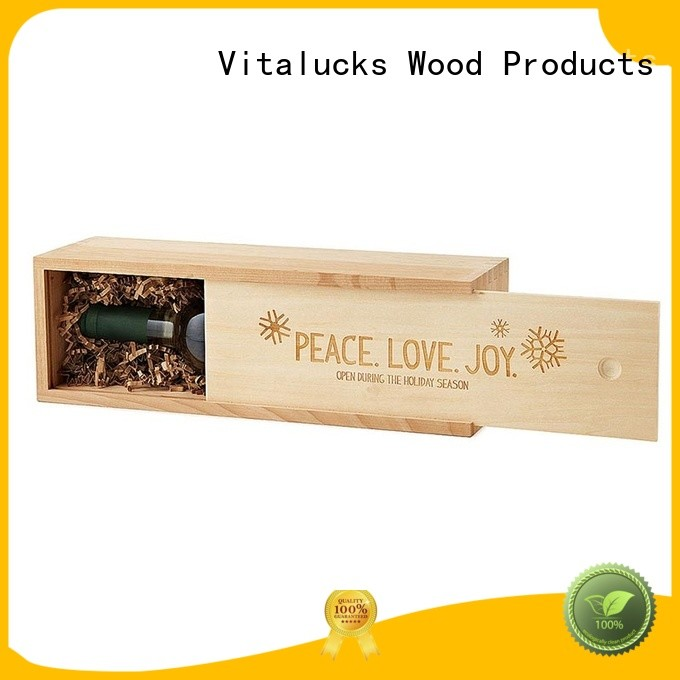 unfinished wooden crate gift box oil essential packing at discount