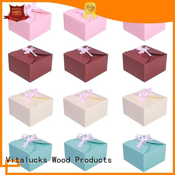 Vitalucks corrugated cardboard display boxes gift packaging