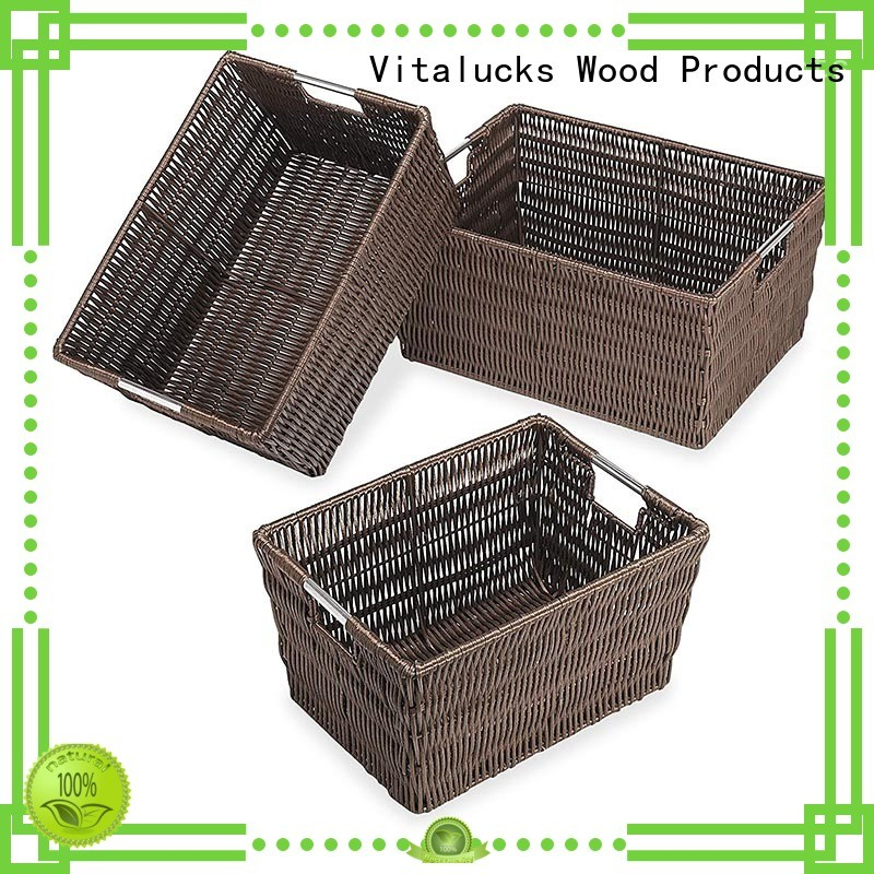 woven storage baskets fast delivery Vitalucks