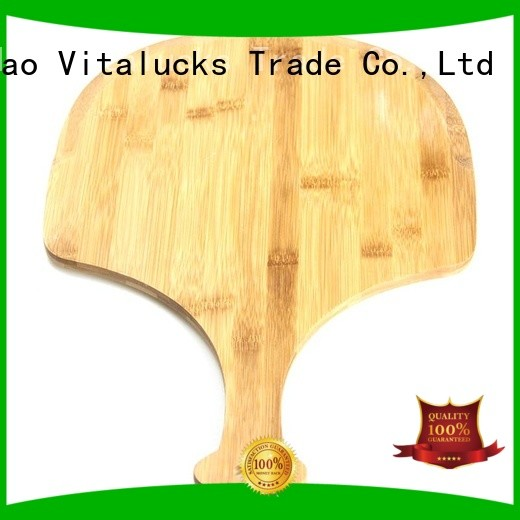 Bamboo breadcheese wood cutting board with handle