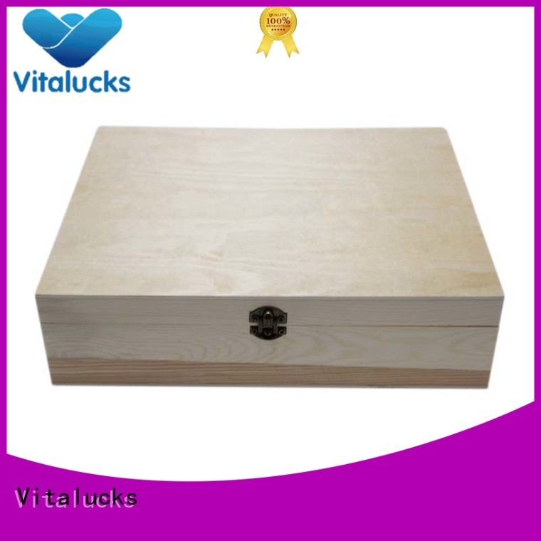 wooden gift boxes wholesale OEM&ODM at discount Vitalucks