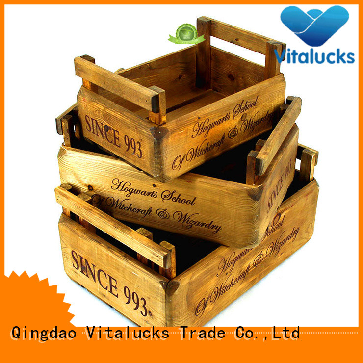 Vitalucks custom wooden boxes high-quality fast delivery