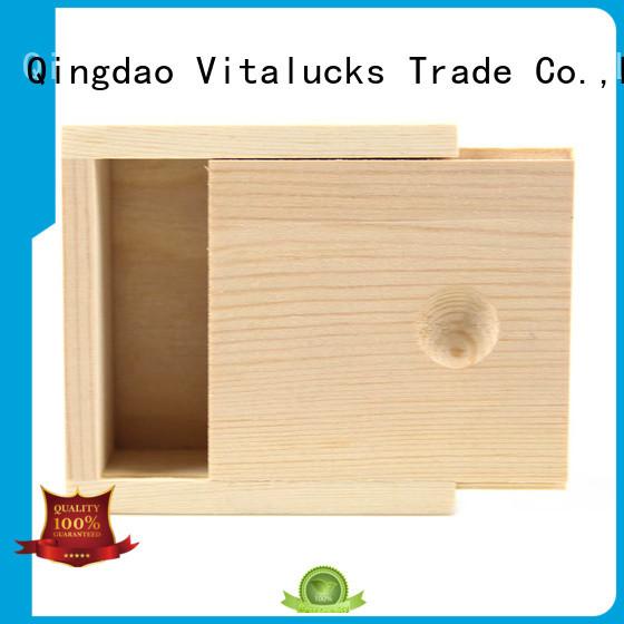 Vitalucks personalised wooden box quality assured supply