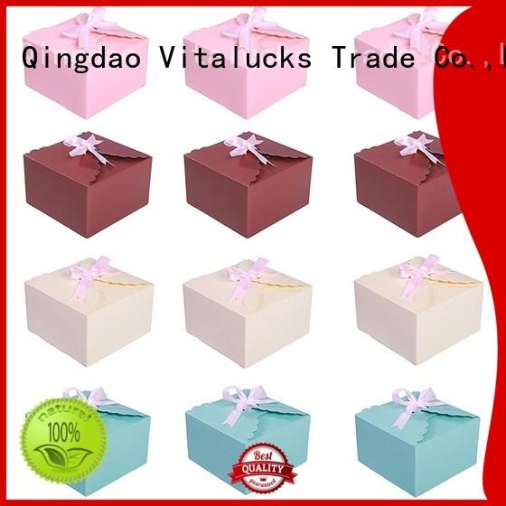 Vitalucks reusable custom gift box packaging high-quality for wholesale