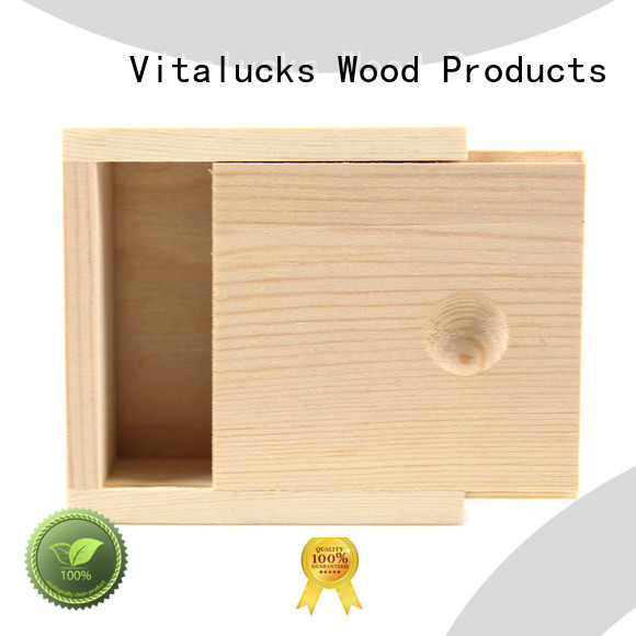 Vitalucks best price wooden gift boxes wholesale OEM&ODM at discount