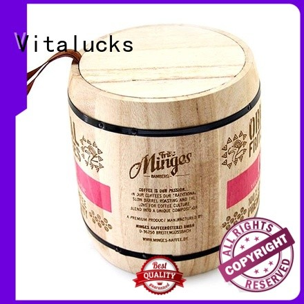 Vitalucks unfinished large wooden box high-quality for pakaging