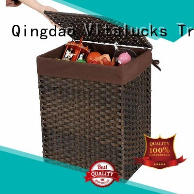 Vitalucks square woven baskets universal fast delivery