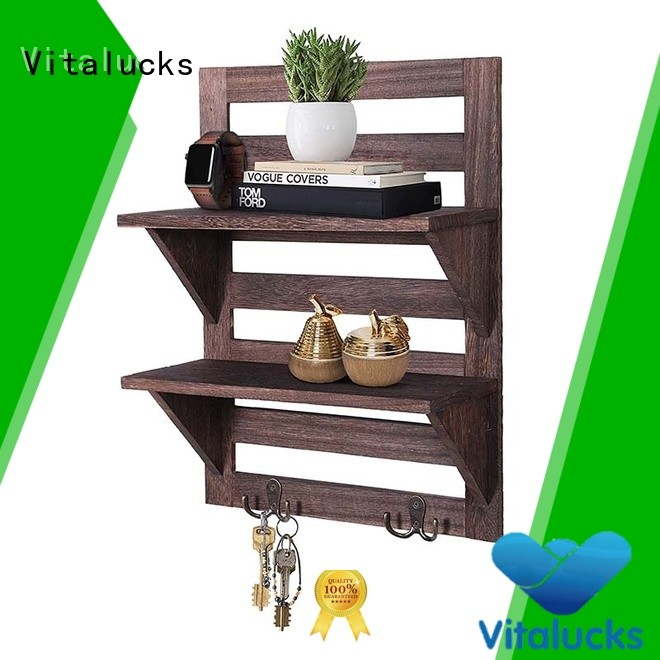 hot-sale natural wood floating shelves advanced equipment for wholesale