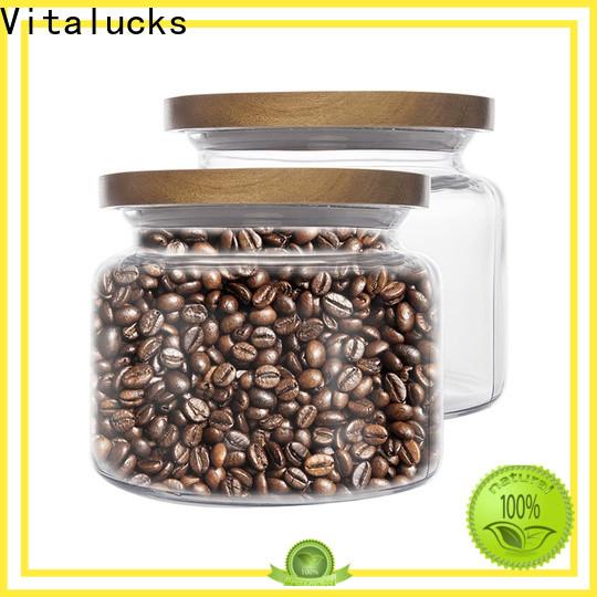 Vitalucks round wooden lids sustainable production
