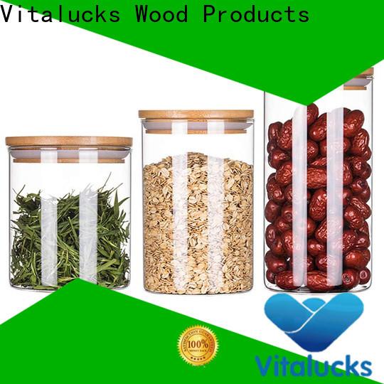 Vitalucks weck wood jar lids durable manufacturing