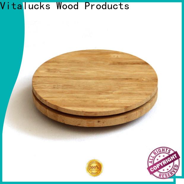 Vitalucks weck jars wooden lids manufacturing