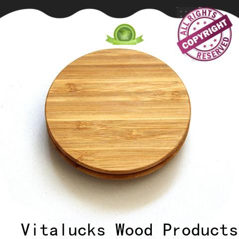 Vitalucks weck wood lids manufacturing