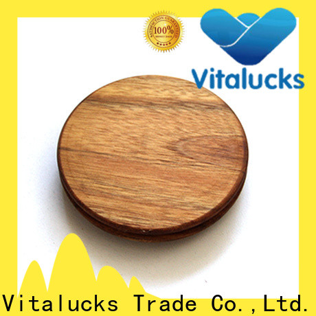 Vitalucks round wooden lids fast delivery