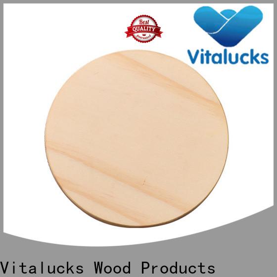 Vitalucks wholesale wooden lid sustainable manufacturing