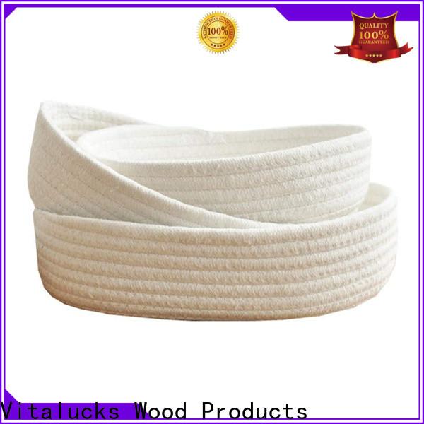 Vitalucks professional beautiful storage baskets practical manufacturing