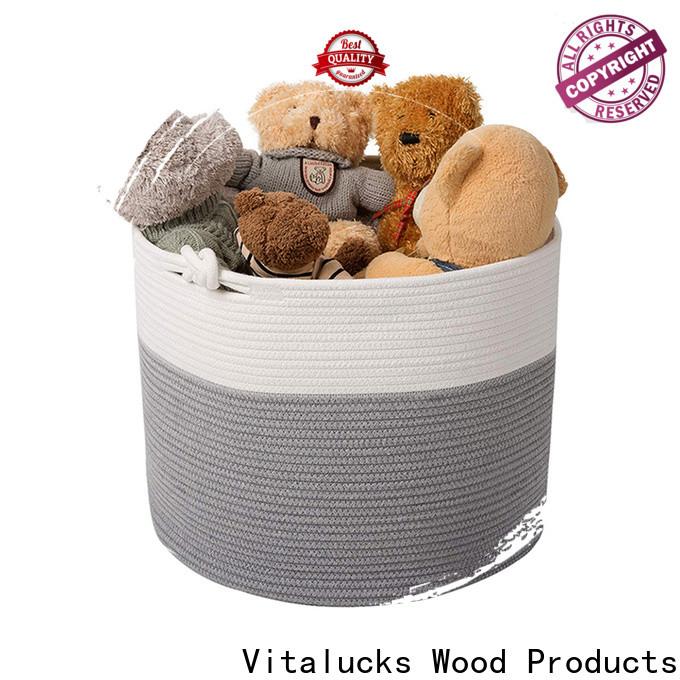 Vitalucks tote baskets storage high qualtiy customizaition