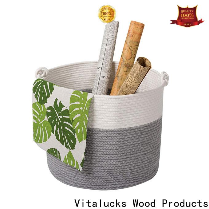 custom large basket for blankets fast delivery best price