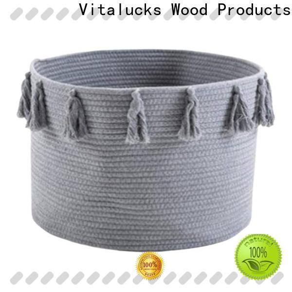 Vitalucks professional tote baskets storage practical manufacturing