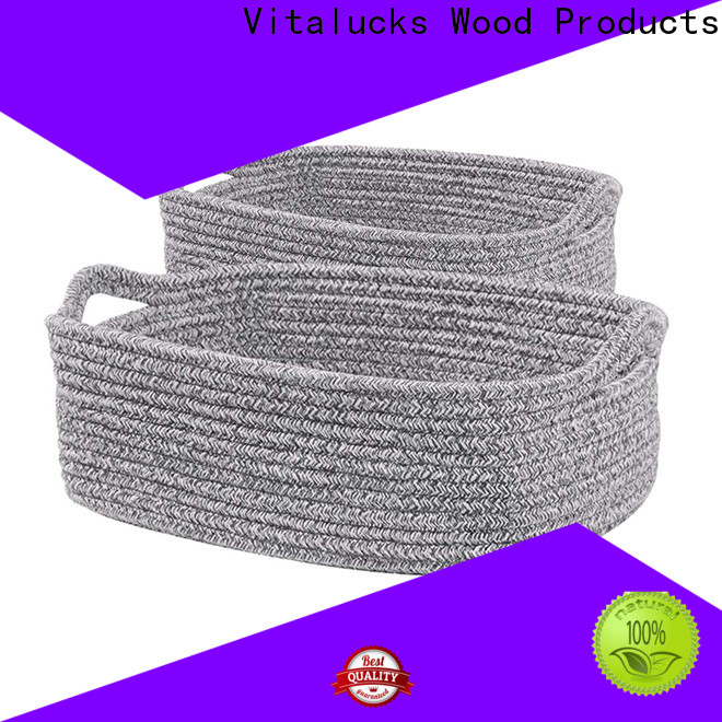 Vitalucks custom shop storage baskets high qualtiy manufacturing